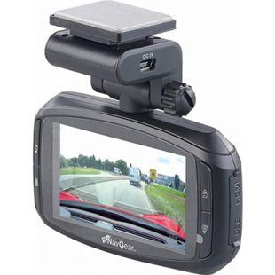 NavGear Super-HD-Dashcam MDV-3300.SHD G-Sensor Weitwinkel GPS Autokamera mit Farbdisplay - Bild 1