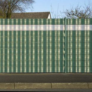 Home Deluxe PVC-Sichtschutz-Zaunfolie 35 m, grün - Bild 1
