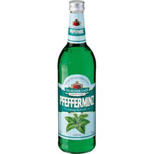 Nordbrand Nordhausen Pfefferminzlikör 18,0 % vol 0,7 Liter - Bild 1