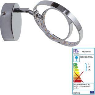Reality Trio LED Wandleuchte RL146, Spot Strahler Wandlampe, inkl. LEDs EEK A+ 1-flammig, 4W - Bild 1