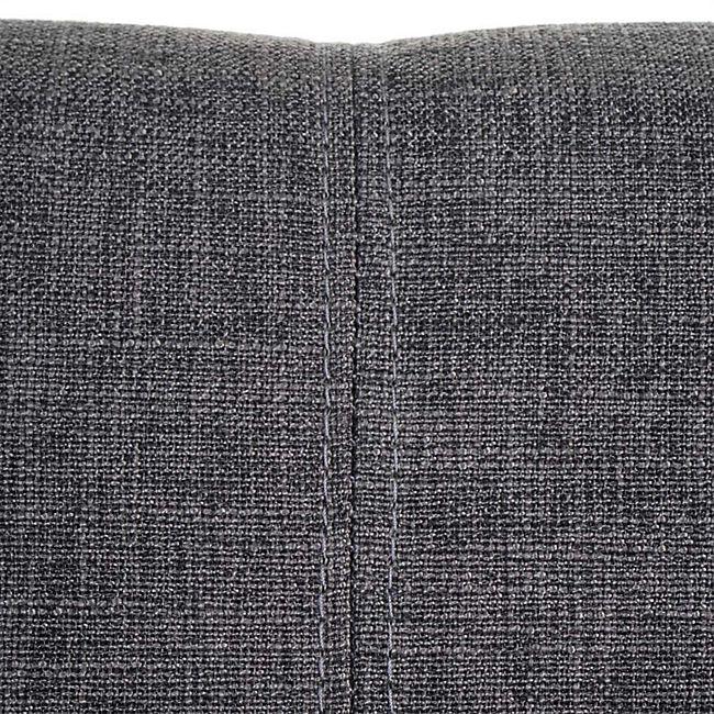 Esszimmerstuhl MCW A50 II, Freischwinger Stuhl Küchenstuhl, Retro 50er Jahre Design ~ Stoff, grau