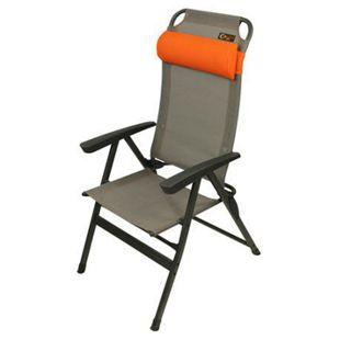Portal KEN Camping Klappsessel - grau/orange - Bild 1