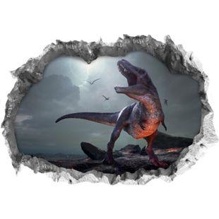 Wandtattoo 3D T-Rex mehrfarbig - Bild 1