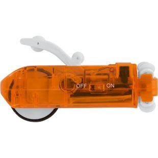 EASYmaxx Autorennbahn Tube Racer Ersatz-Auto 3-tlg. 3,7V transparent/orange - Bild 1