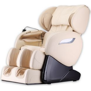 Home Deluxe Massagesessel Sueno V2, beige - Bild 1