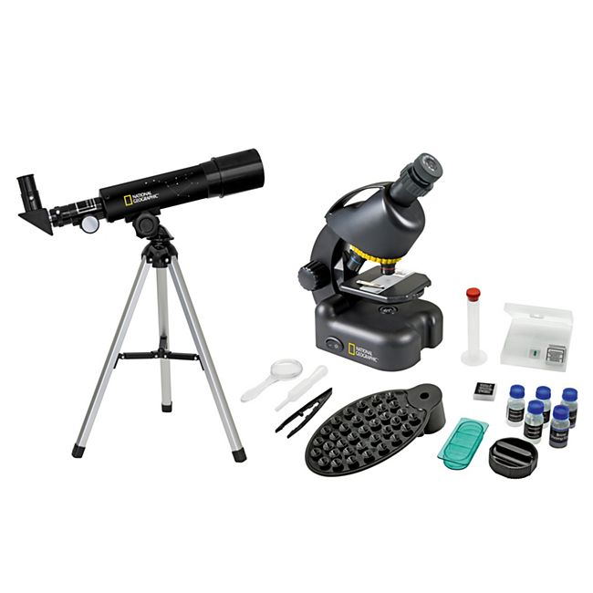 National Geographic Teleskop/Mikroskop Set - Bild 1