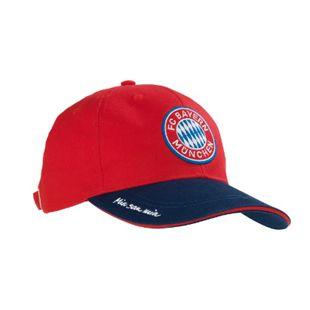 FCB Cap Mia san Mia blau/rot mit Logo - Bild 1