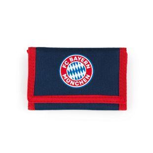 FCB Geldbörse Mia san Mia blau/rot mit Logo - Bild 1
