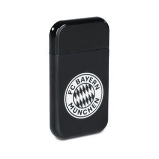 FCB USB-Feuerzeug mit Glühspirale 3,7V schwarz 200mAh mit weißem Logo - Bild 1