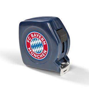 FCB Maßband 5m blau mit Logo - Bild 1