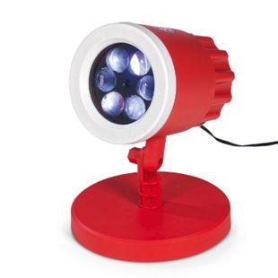 FCB LED-Motivstrahler 7,5W rot mit Logo - Bild 1