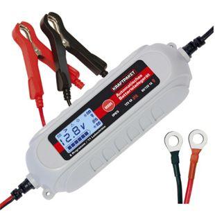 Dino KRAFTPAKET 136312 KFZ Batterieladegerät 6V/12V 4A mit Batterietester - Bild 1