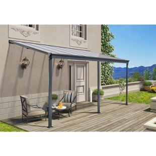 Home Deluxe 9761 Terrassenüberdachung, 434 x 226/278 x 303 cm - Bild 1