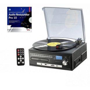 auvisio Stereoanlage MHX-550.LP Musikplayer + Digitalisierer für Schallplatten - Bild 1