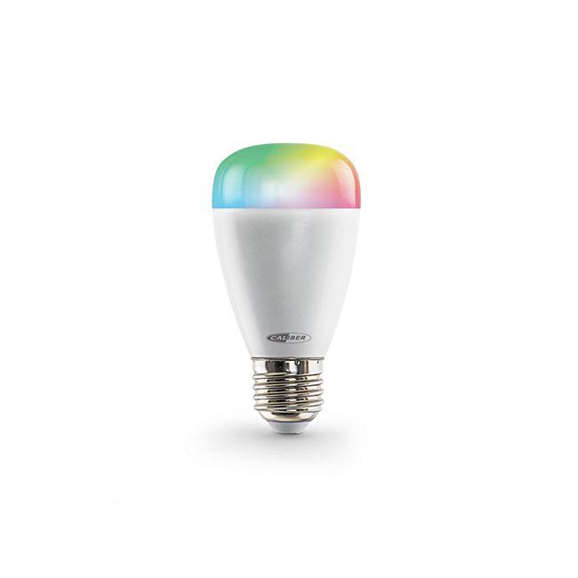 Caliber HWL2101 intelligentes E27 LED-Leuchtmittel, App-gesteuert in Warmweiß & Mehrfarbig - Bild 1