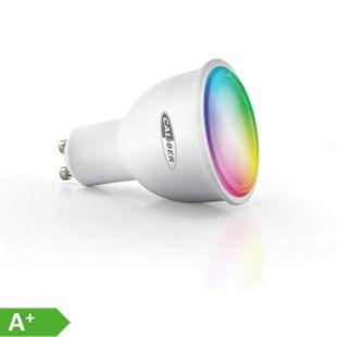 Caliber intelligentes GU10 LED-Leuchtmittel HWL5101 in Warmweiß & Mehrfarbig, App-gesteuert - Bild 1