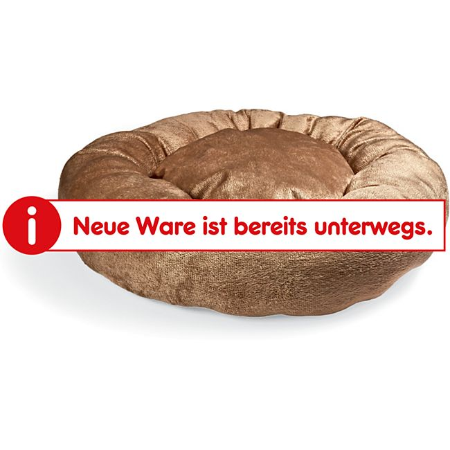 """Tierkissen """"Donut"""" - braun - Bild 1"""