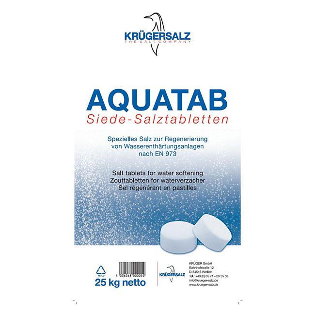 Bevorzugt Krügersalz Aquatab Regeneriersalz für Wasserenthärtungsanlagen, 25 UH08