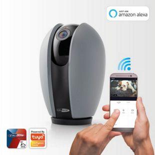 Caliber WiFi IP Kamera für Innenräume mit Schwenk-/Neigefunktion, App-gesteuert - Bild 1