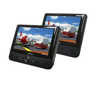 Difrnce Difrnce PDVD9021 Twin DVD Player 22,8 cm LCD - Bild 1