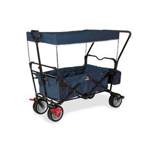 Pinolino Klappbollerwagen Paxi dlx Comfort mit Bremse marineblau - Bild 1