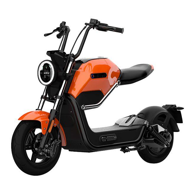 "Didi Thurau Edition Design-Elektroroller ""Max"" orange/schwarz Lithium 60V/20 Ah bis 45 km/h - Bild 1"