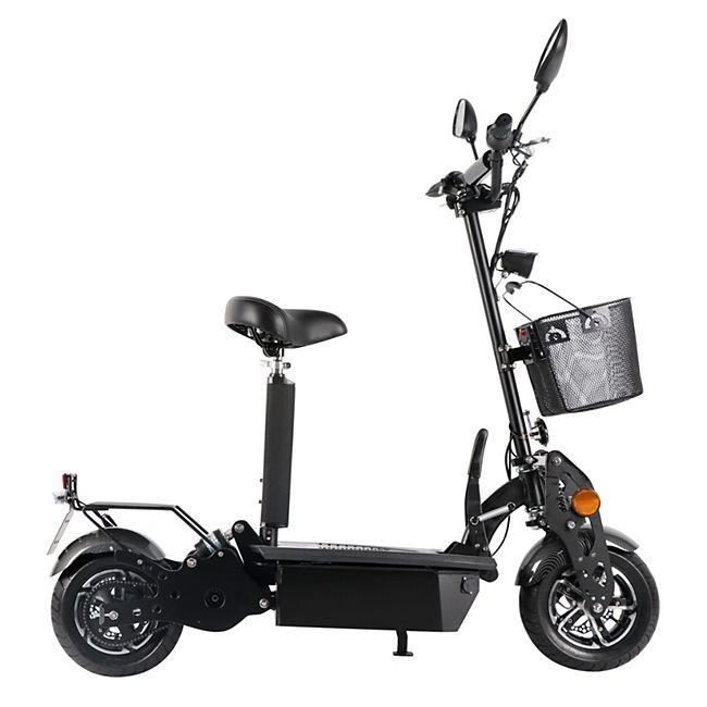 "Didi Thurau Edition E-Roller ""Street"" Basic mit Korb 45 km/h - Bild 1"