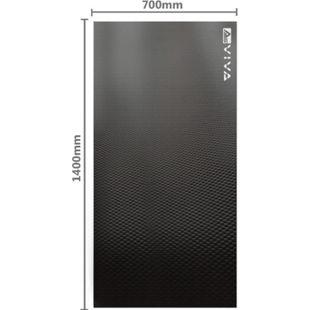 AsVIVA Fitnessgeräte Bodenschutzmatte UM2 140x70cm Unterlegmatte - Bild 1