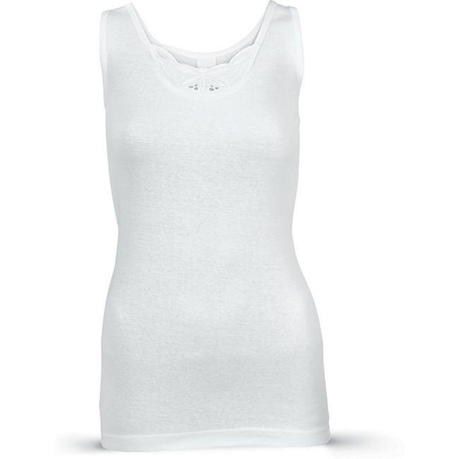 Damen Unterhemd, 2er Pack - Gr. 36/38 - Bild 1