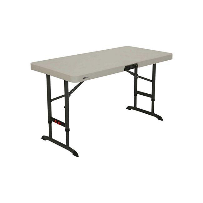 Lifetime Kunststoff Tisch höhenverstellbar - Bild 1
