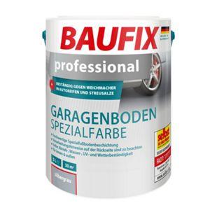 BAUFIX professional Garagenboden Spezialfarbe silbergrau, 5 L - Bild 1