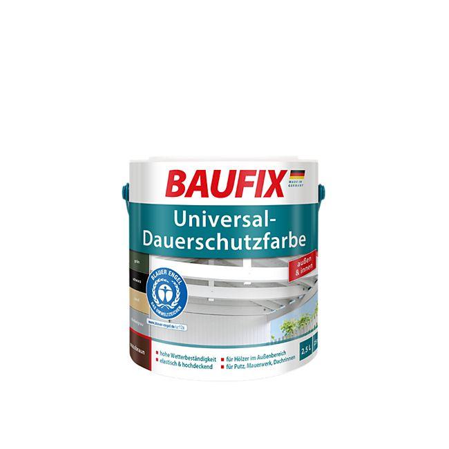 BAUFIX Universal-Dauerschutzfarbe dunkelgrau, 1 L - Bild 1