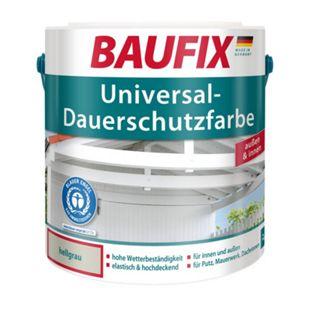 BAUFIX Universal-Dauerschutzfarbe hellgrau, 1 L - Bild 1