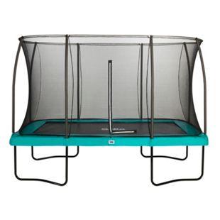 Salta Trampoline - Comfort Edition - rechteckig - 366 x 244m - Schutzrand Grün - Bild 1