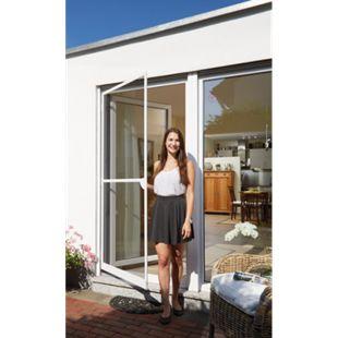 Schellenberg Premium Insektenschutz-Tür, weiß, 120 x 240 cm - Bild 1