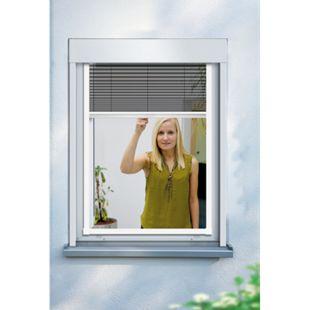 Schellenberg Insektenschutz-Fenster-Plissee, 140 x 150 cm - Bild 1