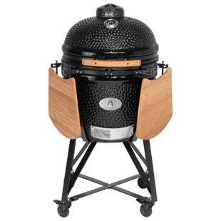 Justus Black J'Egg XL Keramikgrill mit Chip Supply, schwarz - Bild 1