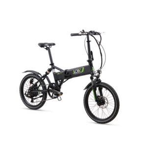 LLobe Alu Elektro Faltrad 20 Zoll City III, 7 Gang Shimano-Schaltung schwarz - Bild 1