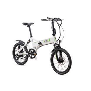 LLobe Alu Elektro Faltrad 20 Zoll City III, 7 Gang Shimano-Schaltung weiß - Bild 1