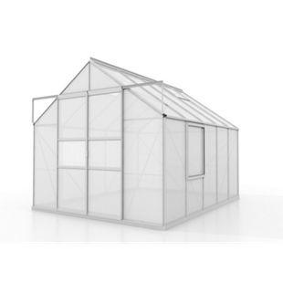 Vitavia Meridian Gewächshaus 2 8300 HKP4mm, alu - Bild 1