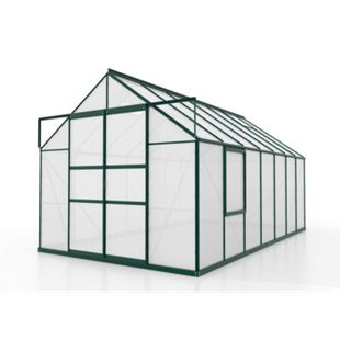 Vitavia Meridian Gewächshaus 2 11500 HKP4mm, smaragd - Bild 1