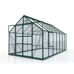 Vitavia Meridian Gewächshaus 2 11500 ESG3mm, smaragd - Bild 1
