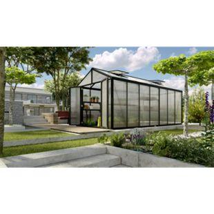 itavia Zeus Gewächshaus Comfort 13800 HKP16mm, schwarz - Bild 1