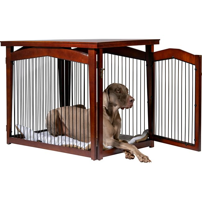 dobar Multifunktion Hundekäfig mit Tischoberfläche Größe L - Bild 1
