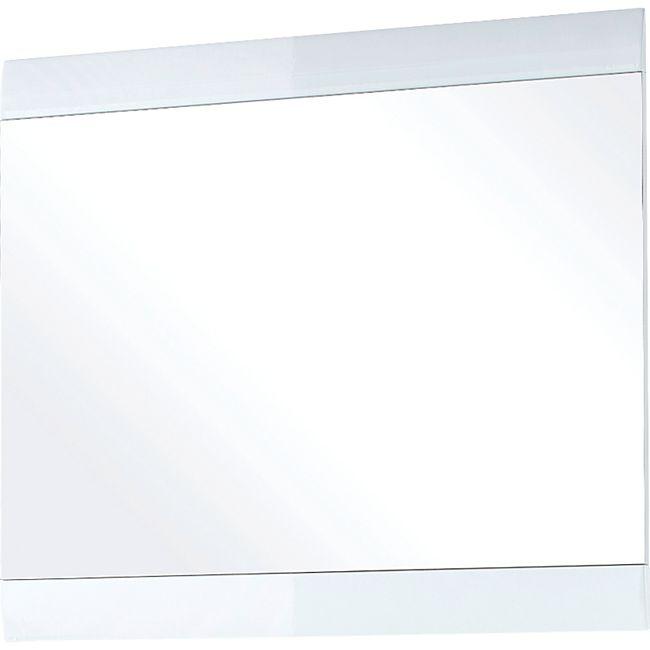 Germania 3517-84 Spiegel mit Hochglanz-Applikationen GW-Neapel in Weiß, 87 x 76 x 3 cm (BxHxT) - Bild 1