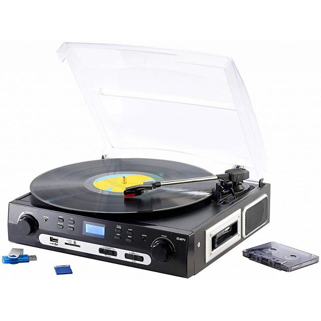 Q-Sonic UPL-855.MP3 Plattenspieler Digitalisierer Schallplatten- und MC+ Audio Restaurator Pro 10 - Bild 1