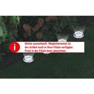 EASYmaxx Solar-Bodenleuchten 4er-Set - Bild 1