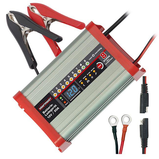 Dino KRAFTPAKET 136320 12 V 20 A Batterieladegerät - Bild 1