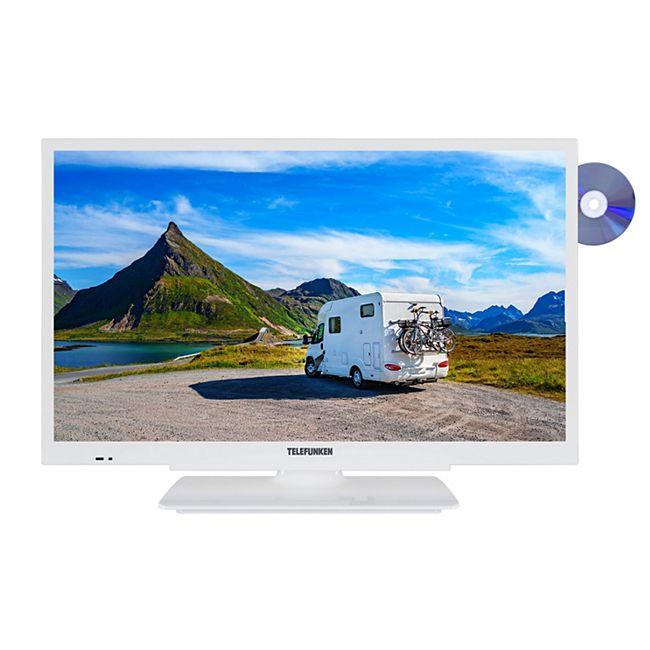 Telefunken XH24G501VD, 61 cm (24 Zoll), 1366x768 (HD-ready), weiß - Bild 1