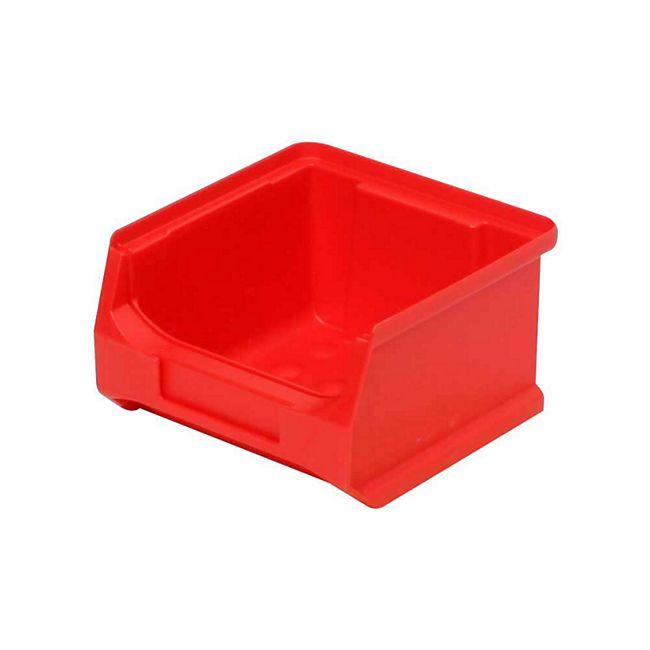 BRB Profi Sichtboxen LB6 100 x 60 x 100 mm, rot - 48 Stück - Bild 1